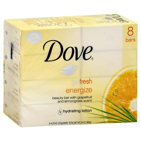 shoo and body soap bars dove go fresh energize beauty bar with grapefruit and