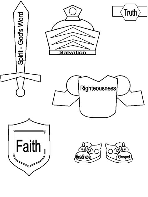 helmet of salvation craft template armor of god printable craft activities for aliyah