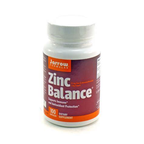 Promo Spesial Zinc Capsules zinc balance optizinc by jarrow 100 capsules