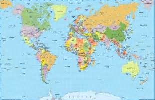 maps of world world map