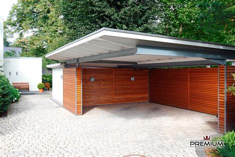 moderne carports aus holz 1000 ideas about carport holz on carport aus