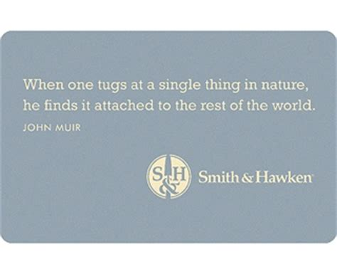 john muir misquote: when one tugs at a single thing in