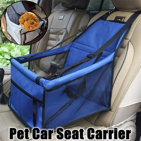 Foldable Pet Car Booster Seat Bag new blue folding travel booster bag puppy pet car seat
