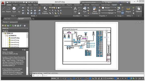 layoutit tutorial autocad electrical 2015 tutorial model and layout youtube
