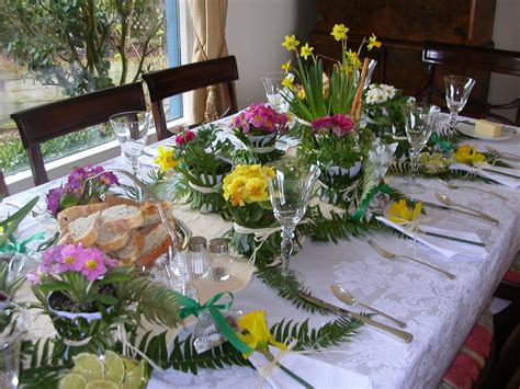 spring table decorations spring table decoration an inspired kitchen