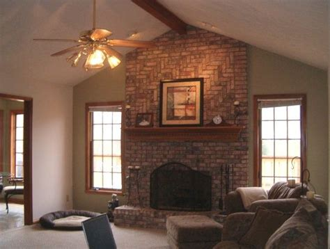 Wall Color With Brick Fireplace by 12 Best Images About Colors The Compliment Brick