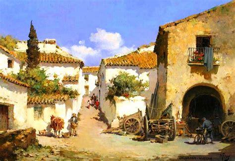 imagenes de paisajes antiguos im 225 genes arte pinturas im 225 genes de hermosos paisajes antiguos