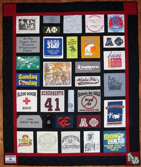 T Shirt Patchwork Quilt - 1000 images about t shirt quilts on quilt