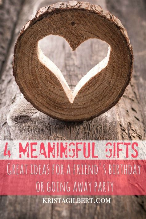 25  unique Meaningful gifts ideas on Pinterest