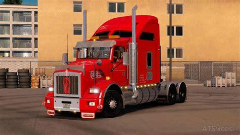 kenworth europe kenworth t800 v 1 2 truck simulator mods