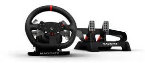 mad catz announces xbox one specific racing wheel ign