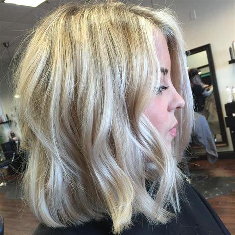 textured lob straight blonde textured lob hair pinterest textured lob