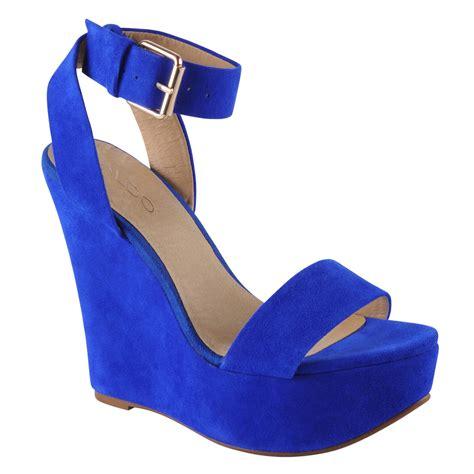 Sandal Wedges Blue Flower royal blue wedge sandals www pixshark images galleries with a bite