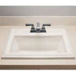 square bathroom sink american standard town square 0700004 countertop sink