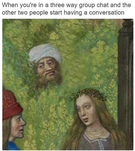 hilarious medieval painting captions pleated jeans