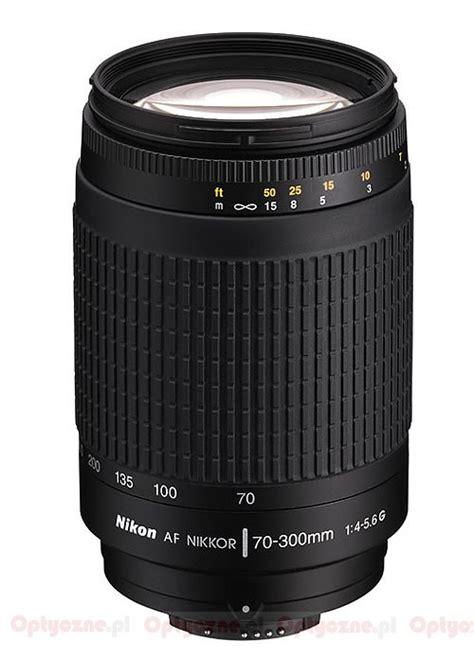 Nikon Af 70 300 Mm F 4 5 6 G nikon nikkor af 70 300 mm f 4 5 6g optyczne pl
