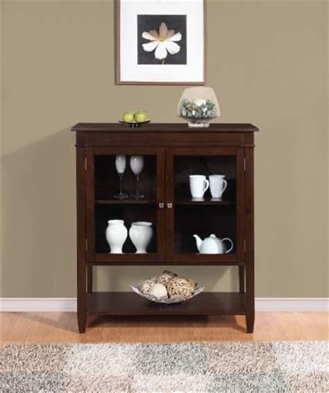simpli home carlton medium storage cabinet tobacco