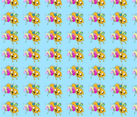 adventure time gift wrap adventure time 001 fabric cala4899 spoonflower