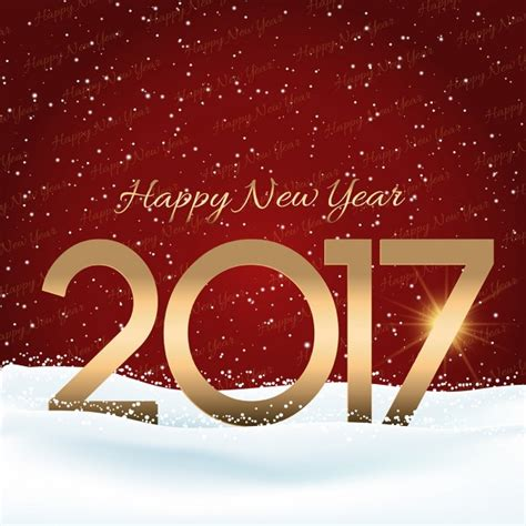new year snow background with snow for the new year vector free