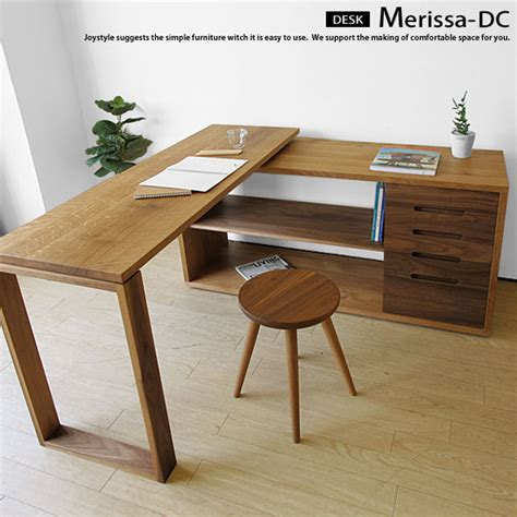 Oak Corner Desk 楽天市場 ナラ無垢材 ウォールナット無垢材 ツートンカラーが魅力的な伸長デスク コーナーデスクやサイドボードにも