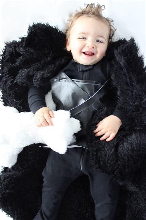 diy halloween costume baby jon snow