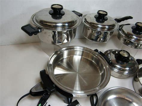kitchen craft americraft waterless 11 pc cookware set 1