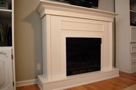 Electric Fireplace Surround by Build A Fireplace Surround For Electric Fireplace Plans
