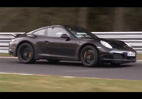 porsche prototype 2015 video 2015 porsche 911 prototype with new 4 cylinder engine