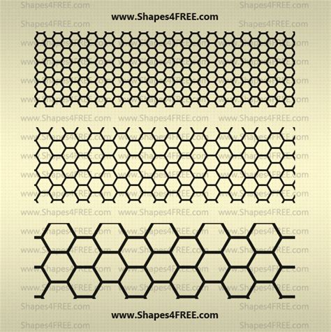 Pattern Shapes Photoshop | 22 hexagon photoshop patterns pat photoshop patterns