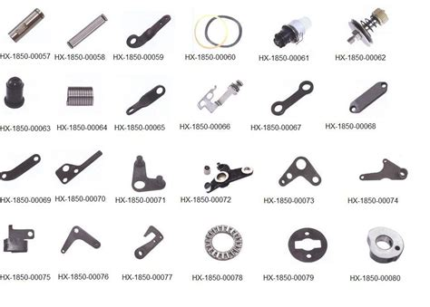 swing machine parts china 1851 industrial sewing machine parts china