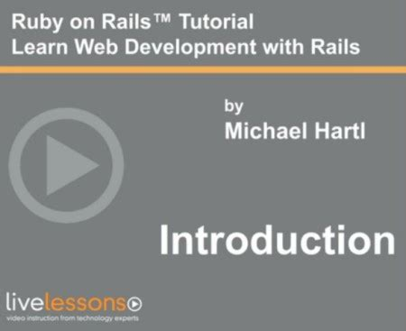 ruby tutorial website livelessons ruby on rails tutorial 2013 edition 2nd