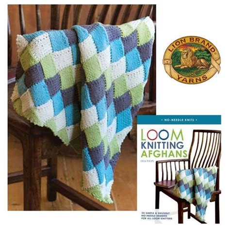 free loom knitting afghan patterns loom knitting afghans book giveaway and new free pattern