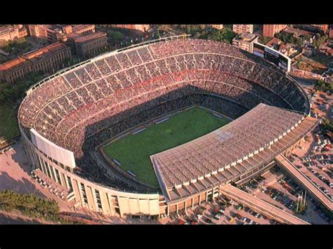 top  biggest football stadiums   world youtube