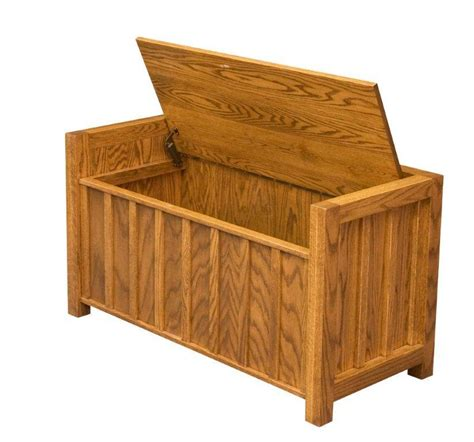 amish storage bench amish 40 quot lift lid mission storage bench amish benches 12445