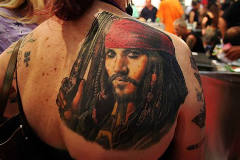 quantas tattoos johnny depp tem tattoofriday 35 tatuagens de personagens de johnny depp