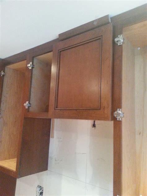 crown molding on top of kitchen cabinets crown molding on kitchen cabinets yes or no