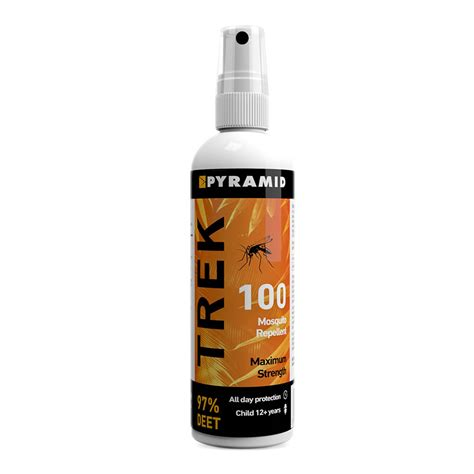pyramid trek 100 insect repellent 120ml strong
