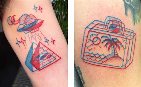 imagenes de tatuajes retro tatuajes en 3d versi 243 n anaglifo no puedo creer