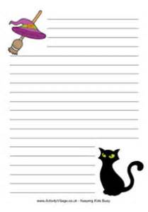 Halloween Writing Paper Template Search Results For Lined Paper For Kids Calendar 2015