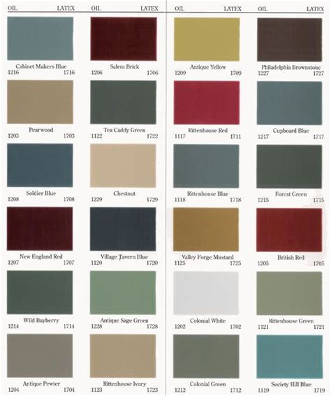 historic paint colors home spiration