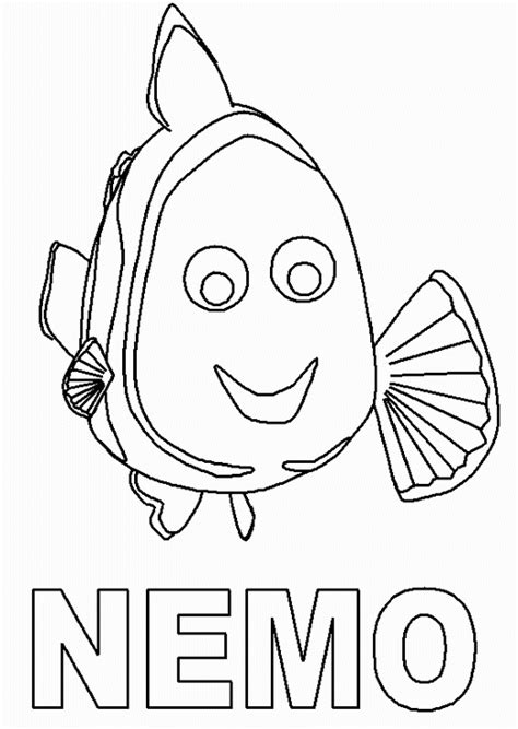 disney nemo coloring pages free finding nemo coloring pages coloringpages1001 com