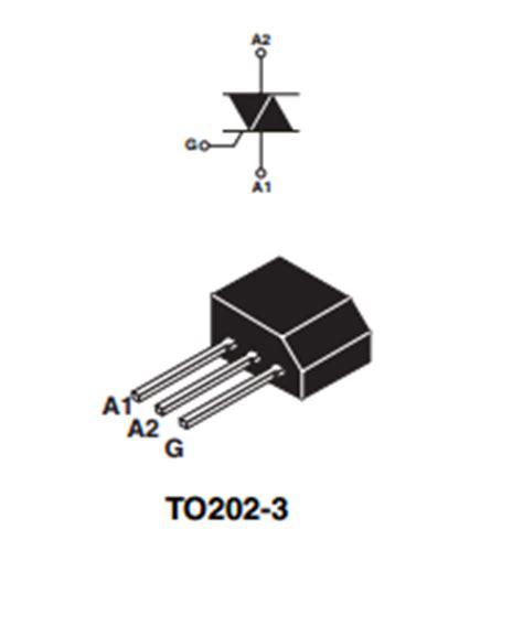 transistor z0409mf zo405mf datasheet zo405mf pdf pinouts circuit stmicroelectronics