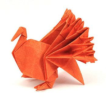Origami Turkey - origami curmudgeon at large