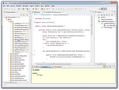 tutorial java programming eclipse jdownloader org official homepage