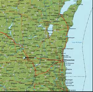 southeast map cities southeast wisconsin road map pictures to pin on