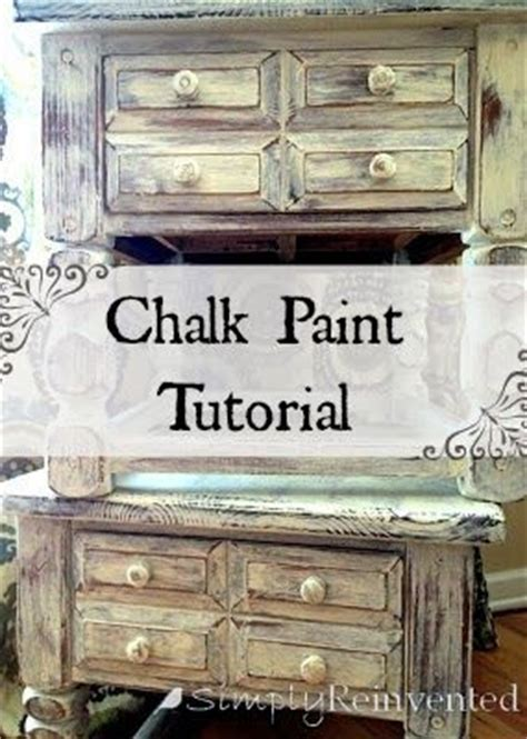 chalk paint tutorial español simply reinvented tutorials chalk paint clear wax