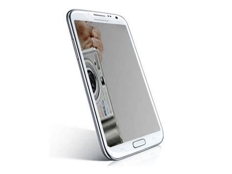 Mirror Galaxy Note 2 mirror screenprotector voor samsung galaxy note 2 n7100