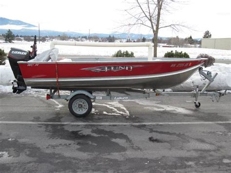 lund boats spokane 14 ft lund boat for sale