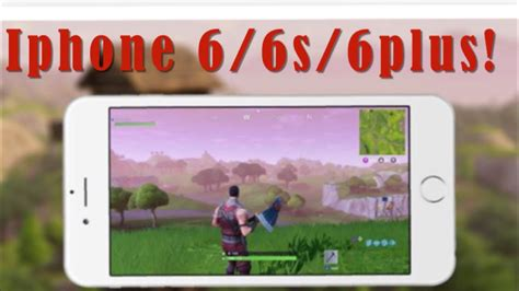 how to play fortnite on iphone 6 6s 6plus updated