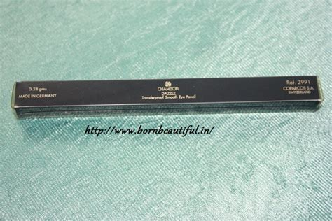 City Lights Eye Pencil review of chambor transfer proof eye pencil in dazzle
